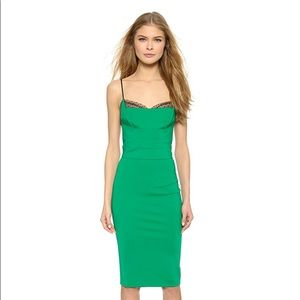 7845365dd99a Noah Hanoch Dresses - Noah Hanoch Guinevere Slip Dress in Hunter Green